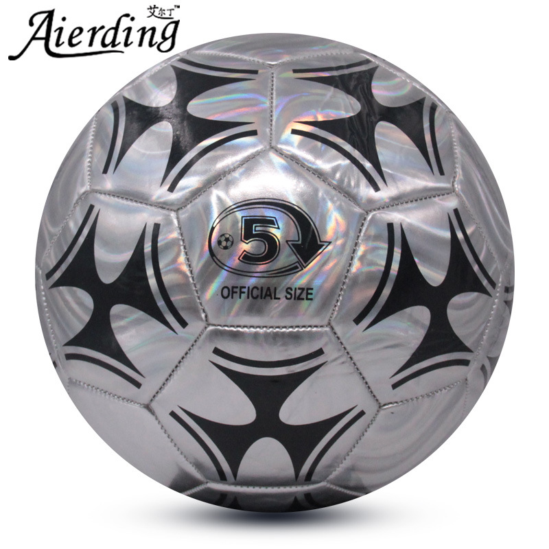 WISHOME Soccer Ball Size 5 Official Standard Match Football Ball Training Futbol Foot Game Kids/Adult Futebol Voetbal Gift