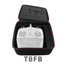 Radiolink T8FB/AT9S/AT10 الارسال المحمولة تخزين حقيبة يد واقية صندوق حقيبة FrSky X9D/X9D زائد ريديو تحكم عن بعد