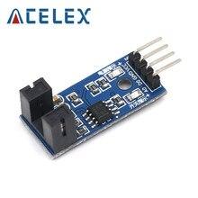 Módulo de Sensor de velocidad infrarrojo F249 de 4 pines para Arduino/51/AVR/PIC 3,3 V-5V de alta calidad