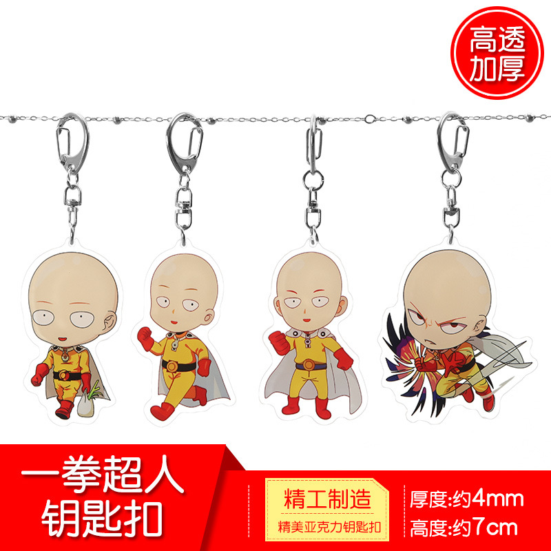 Set of 3 Anime One Punch Man Hero Saitama Deco Metal Diecut Emblem Decal Sticker