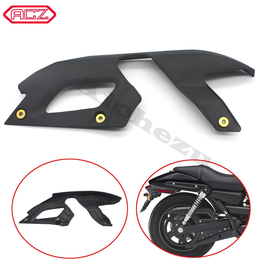 FOR 2015 <font><b>Harley</b></font> <font><b>XG750</b></font> XG 750 111 Street Motorcycle Parts 1x Rear Black Upper Belt Cover Guard Kit image