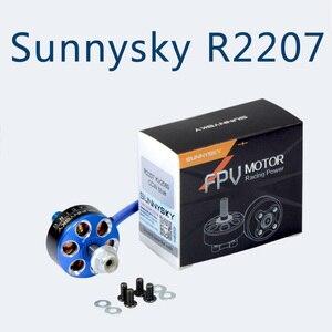 Бесщеточный двигатель Sunnysky R2207 2207, 2580KV 1800KV для RC Drone FPV Racing Multi Rotor DIY рамка запасные части Accs