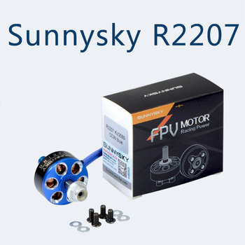 Sunnysky R2207 2207 Brushless Motor 2580KV 1800KV For RC Drone FPV Racing Multi Rotor DIY Frame Spare Parts Accs gemfan 1219 31mm 0 8mm hole 3 paddle propeller for 0703 1103 rc drone fpv racing brushless motor spare parts accs
