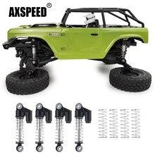 AXSPEED – amortisseur de choc pour voiture à chenilles Axial SCX24 90081 1/24 RC, alliage métallique en aluminium, 1 ensemble, pièces et accessoires de mise à niveau