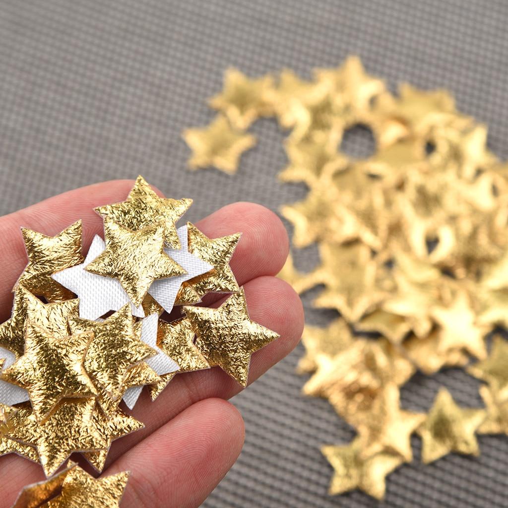 100pc Christmas Star Confetti Home Decoration Noel Bricolage Christmas Decorations For Home Igrushki Na Elku Yo04 Tree Toppers Aliexpress