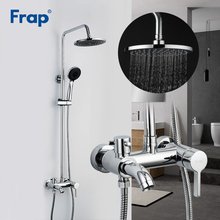 Shower Faucet Bath-Wall Frap Mixer Bathroom Rainfall Torneira Hot-And-Cold-Water-Tap