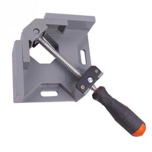 Image 5 - Alüminyum tek kolu 90 derece dik açı kelepçe açı kelepçe ağaç İşleme çerçevesi klip sağ açı klasörü aracı