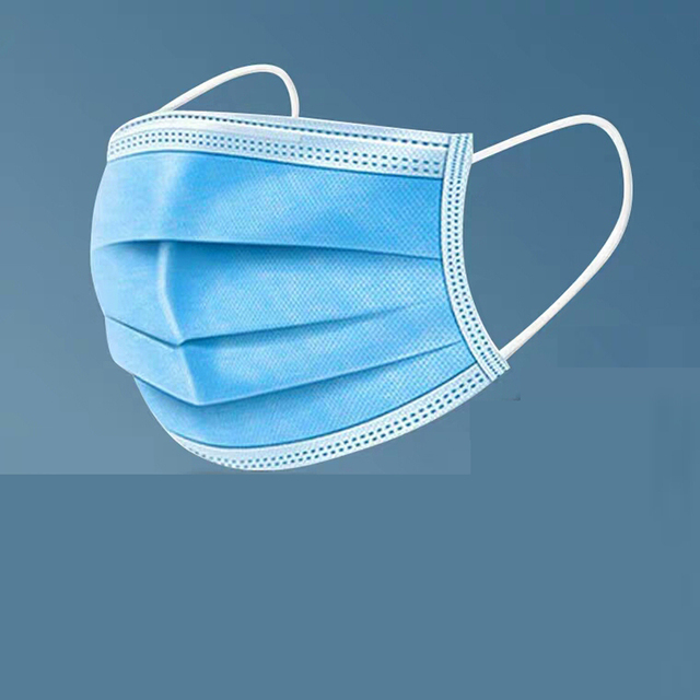 10/100pcs Men Women adult Cotton Anti Dust Mask Activated Filter 3 layers mouth mask muffle Bacteria Flu Face Masks for hair 1