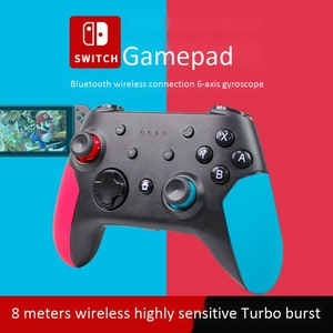 2021 Newest Wireless Switch Pro Game Controller Bluetooth Gamepad for Nintendo Switch PC Supports Gyro Axis Turbo Dual Vibration