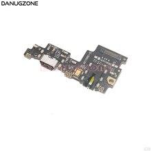 10 pces para xiao mi mi 5x/mi a1 usb porto de carregamento doca tomada conector placa carga cabo flexível com fone de ouvido áudio jack