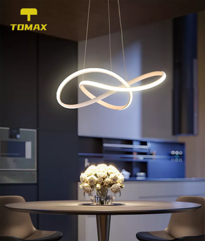 creative home fixtures modern led pendant lights for living room bedroom dining room originality led pendant lamps input ac 220v 3 Colors Dimmable By Remote Modern LED Pendant Lights For Living room Bedroom Dining Room Hanging Lamps Home Lighting Chandelier