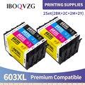 IBOQVZG T603 T603XL E-603XL совместимый чернильный картридж для принтера Epson рабочей силы WF-2810DWF WF-2830DWF WF-2835DWF WF-2850DWF принтер