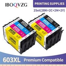IBOQVZG T603 T603XL E-603XL Compatible Ink Cartridge for Epson WorkForce WF-2810DWF WF-2830DWF WF-2835DWF WF-2850DWF Printer