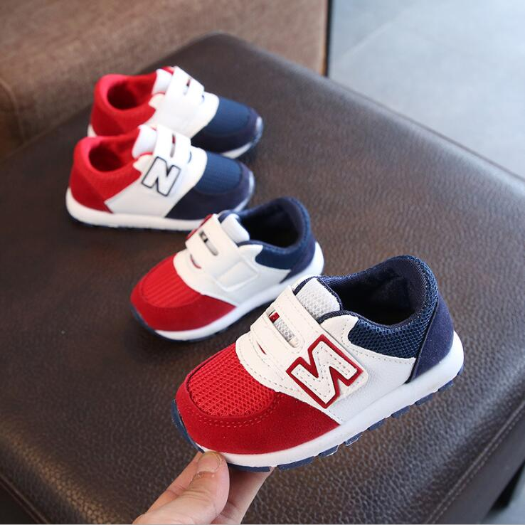 Brand New Kids Shoes For Boys Girls Children Casual Sneakers Baby Girl Mesh Breathable Soft Running Sports Shoes