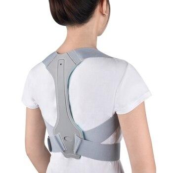 Men Women Adjustable Upper Back Brace For Clavicle Support Back Posture Corrector Back Support Belt Brace Humpback Corrector Ort