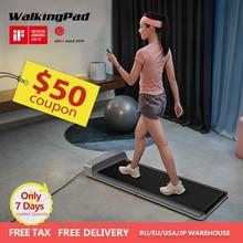 купить WalkingPad A1 Smart Electric Foldable Treadmill Jog Fast Space Walk Machine For Home Aerobic Fitness Equipment Xiaomi Ecosystem дешево