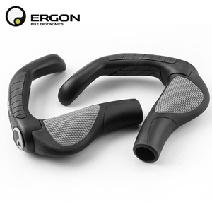 Image 5 - Flat MTB Grips Bike Lock on Bicycle Handlebar Grips with Extended Bar End Support Ergonomics Cycling Handlebar Covers Bike Grips