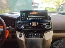 Autoradio Android 10, type Tesla, lecteur multimédia, stéréo, pour TOYOTA LAND CRUISER 300, LC300, 2020, 2021, VX, GX, VXS, 5700