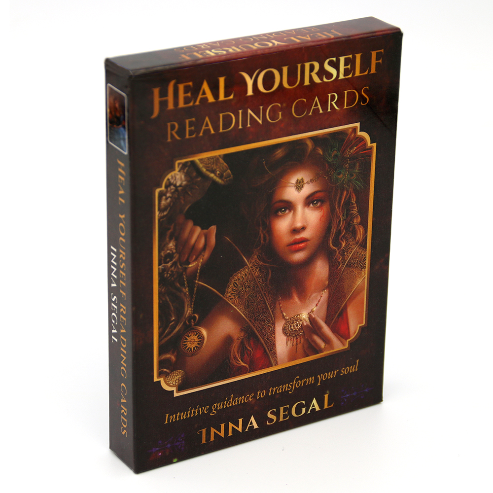 Heal Yourself Reading Cards Intuitive Guidance To Transform Your Soul Reading Card Series Game