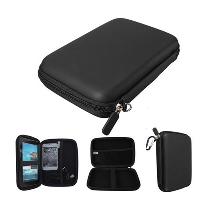 New 2019 Hot Selling Popular Style Hard Disk Bag Shockproof Waterproof Shell Carry Case Bag Cover Protector For Hard Disk Carry