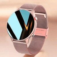Neue Mode Smart Uhr Frauen Männer Bluetooth Anruf Musik Herz Rate Schlaf Überwachung Wasserdichte Smartwatch Für Xiaomi Huawei Telefon