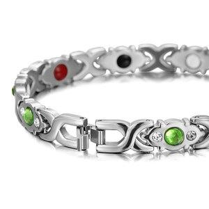 Image 4 - RainSo brazalete infrarrojo de acero inoxidable para mujer