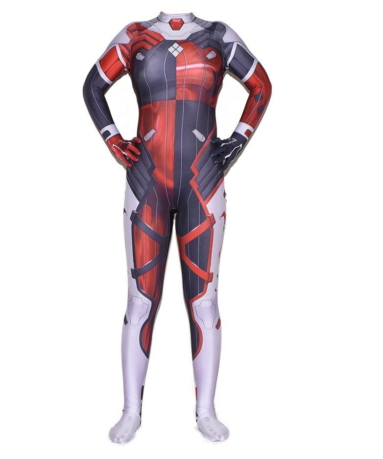 New 52 Superhero Cosplay Costumes Zentai Suit d.va Halloween Bodysuit Adults Kids 1