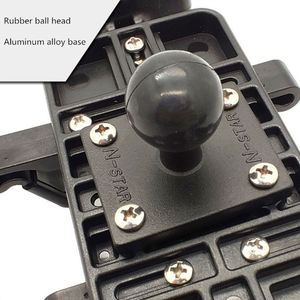 Image 3 - Aluminum Square Mount Base with Ball Head for Ram Mount for Garmin Zumo/TomTom