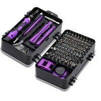 115/25 en 1 tournevis Mini précision tournevis Multi ordinateur PC téléphone Mobile dispositif réparation isolé main maison outils
