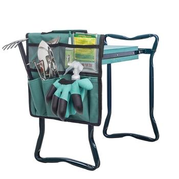 1pc krzesełko ogrodnicze torba na narzędzia krzesełko ogrodnicze siedzenia torba na narzędzia praca na zewnątrz wózek przechowywanie narzędzi torba kolana stołek narzędzia ogrodnicze organizatorzy tanie i dobre opinie Drut 6 5 Do montażu za drzwiami na ścianach Torby do przechowywania Ekologiczne Folding Oxford Typ zawieszenia ubrania