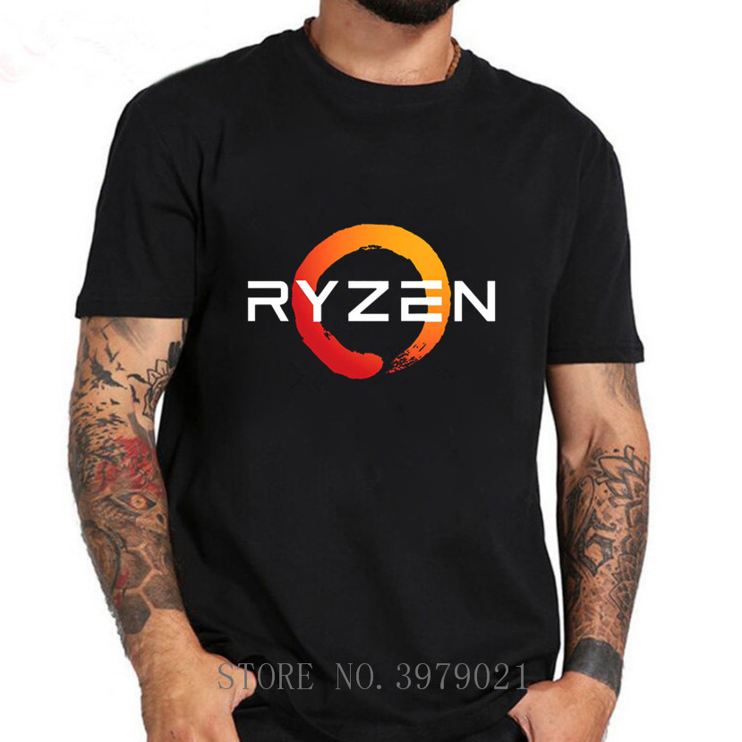 2019 Hot Selling Funny PC CP Uprocessor AMD RYZEN Cotton T Shirt For Men Top Tees