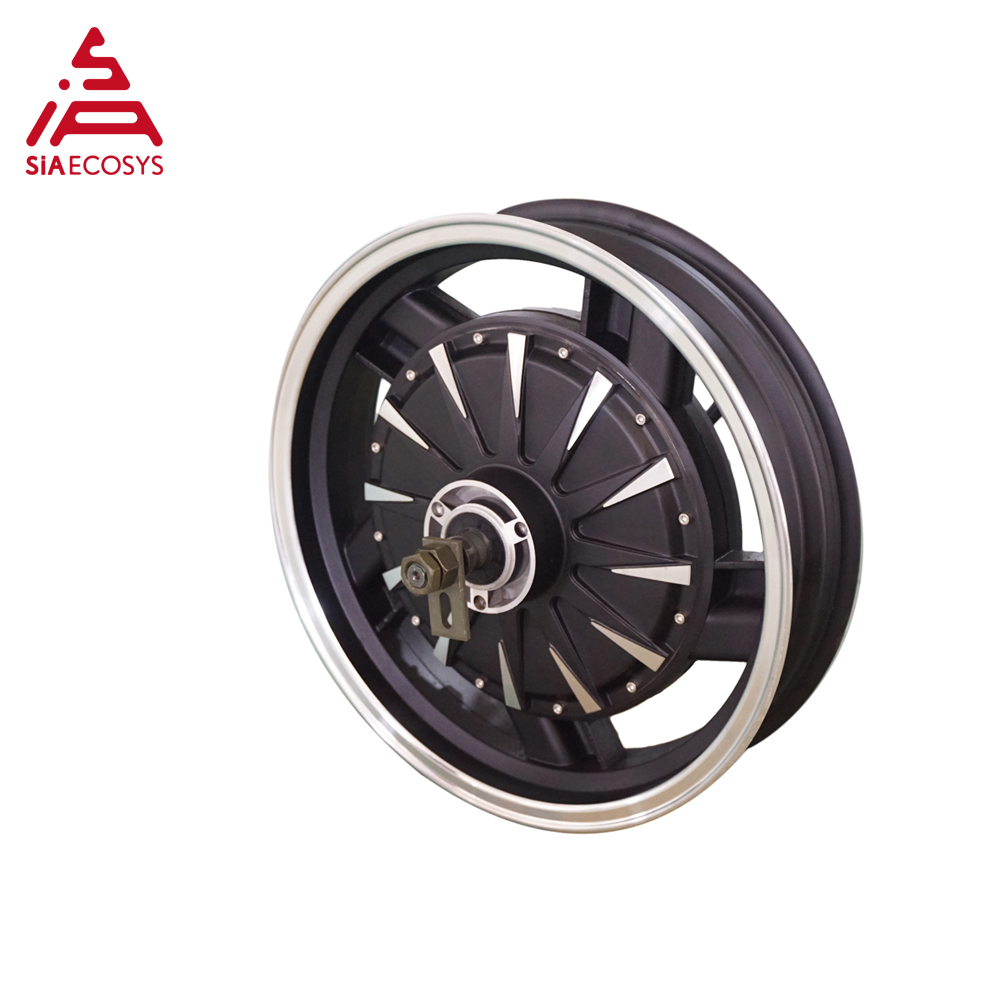 <font><b>QS</b></font> <font><b>Motor</b></font> 16*3.5inch <font><b>5000W</b></font> 260 V4 hot sale BLDC in wheel <font><b>motor</b></font> dual shaft hub <font><b>motor</b></font> for ectric scooter/ e-motorcycle image