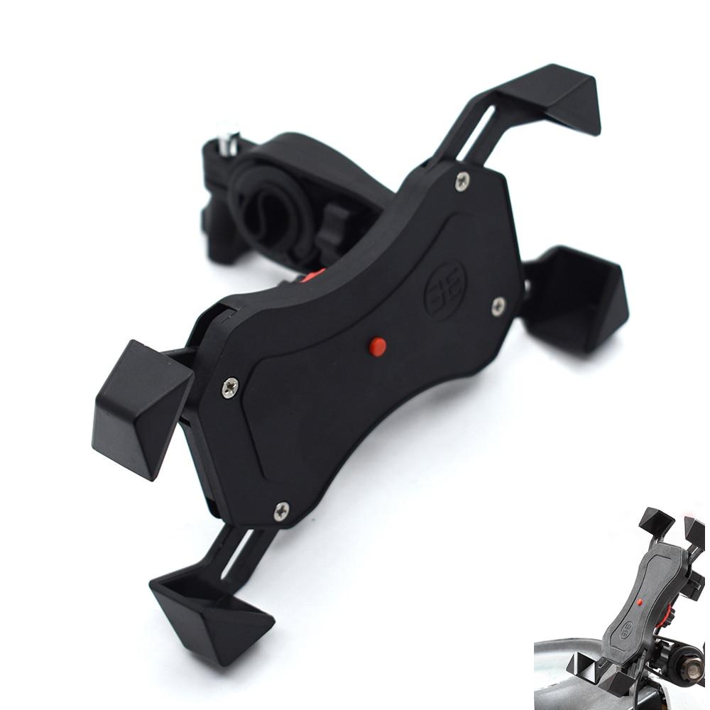 Universal motorcycle mobile phone holder USB charger mobile phone holder For Honda CB600 599 919 CBR600 250 400 Hornet 250 VTR