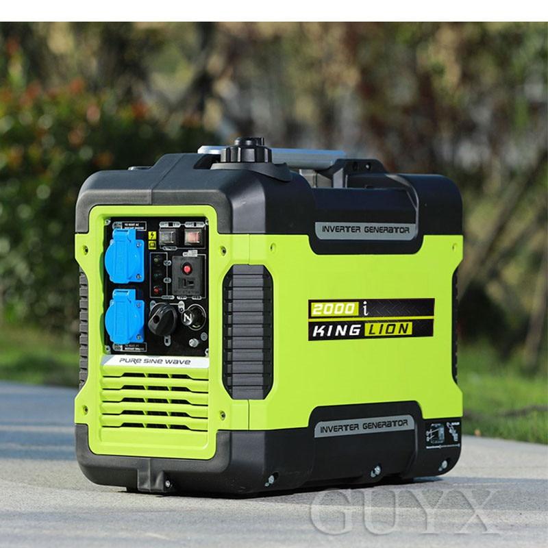 gerador pequeno exterior ultra silencioso da gasolina inversor de 3kw digitas 04