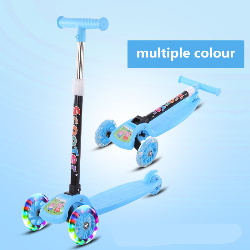 Children Scooter Tricycle Baby 3 In 1 Balance Bike Ride On Toys Flash Folding Meter Car Child Toys Ride On Toys