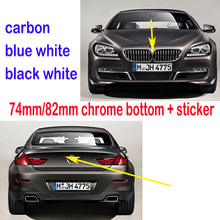 2 шт. 74/82 мм карбоновая Эмблема багажника автомобиля логотип для BMW F10 E39 E60 G30 E36 E46 E90 F30 G20 E83 E84 E70 E71 E38