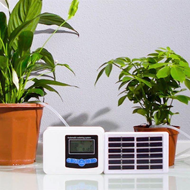 Solar Smart Drip Irrigatie Systeem Automatische Plant Polar Apparaat Irrigatie Timer Self Watering Timer Controller Tool