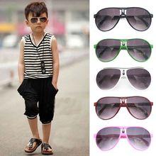 Sunglasses Girl Steampunk Cute Round Frame Small Children's Summer Bee YJ Baby-Boy