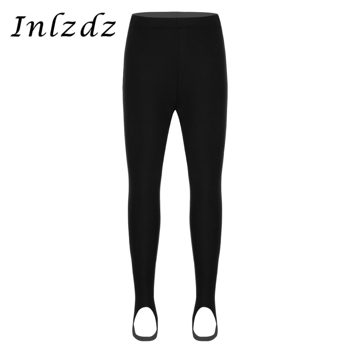 Kids Boys Girls Ballet Dance Pants Costume Gymnastics Leotard Ballet Yoga Pants Stirrup Pantyhose Stockings Tights Leggings