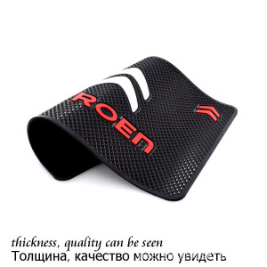 Car Logo Anti Slip Mat Phone Holder Non-Slip Mat non slip Pad For Citroens C1 C2 C3 C4 C5 C6 C8 C4L DS3 DS5 Car Accessories