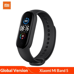 Original Xiaomi Mi 3 Sport Smart Watch Mi Band 5 Smart Bracelet Global Version Heart Rate Monitor Smart Band For Android iOS