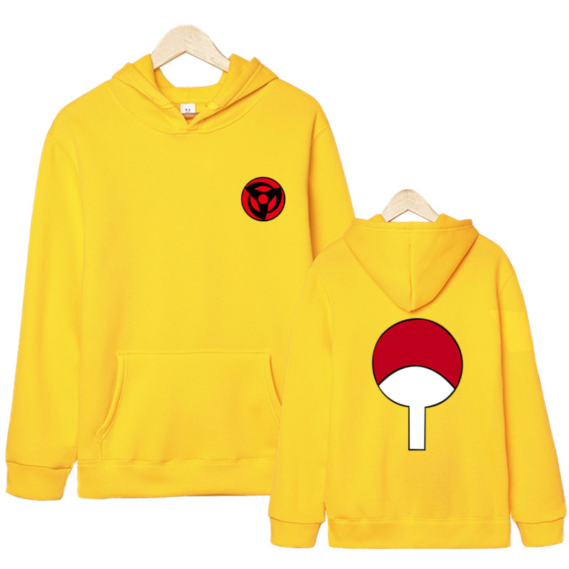 Hoodies Unisex Naruto Harajuku Japanese Anime Uchiha Itachi Printed Men/'s Hoodie