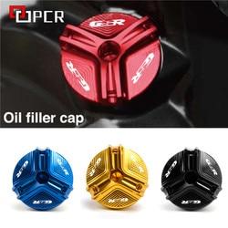 M20*1.5 Engine Magnetic Oil Filler Drain Plug Cover For SUZUKI GSR 250 250S 250F 400 600 750 ABS GSR400 GSR600 GSR750