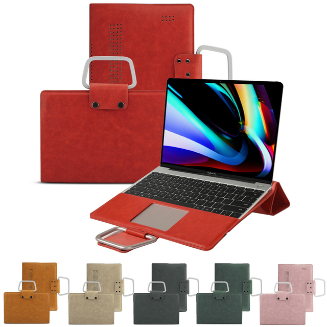 PU leather Multi-functional Case for MacBook