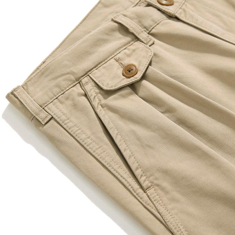Saucezhan Jf05 Pantalones Tobilleros Para Hombre Pantalon Informal Americano Chino Cargo Pantalones Informales Aliexpress