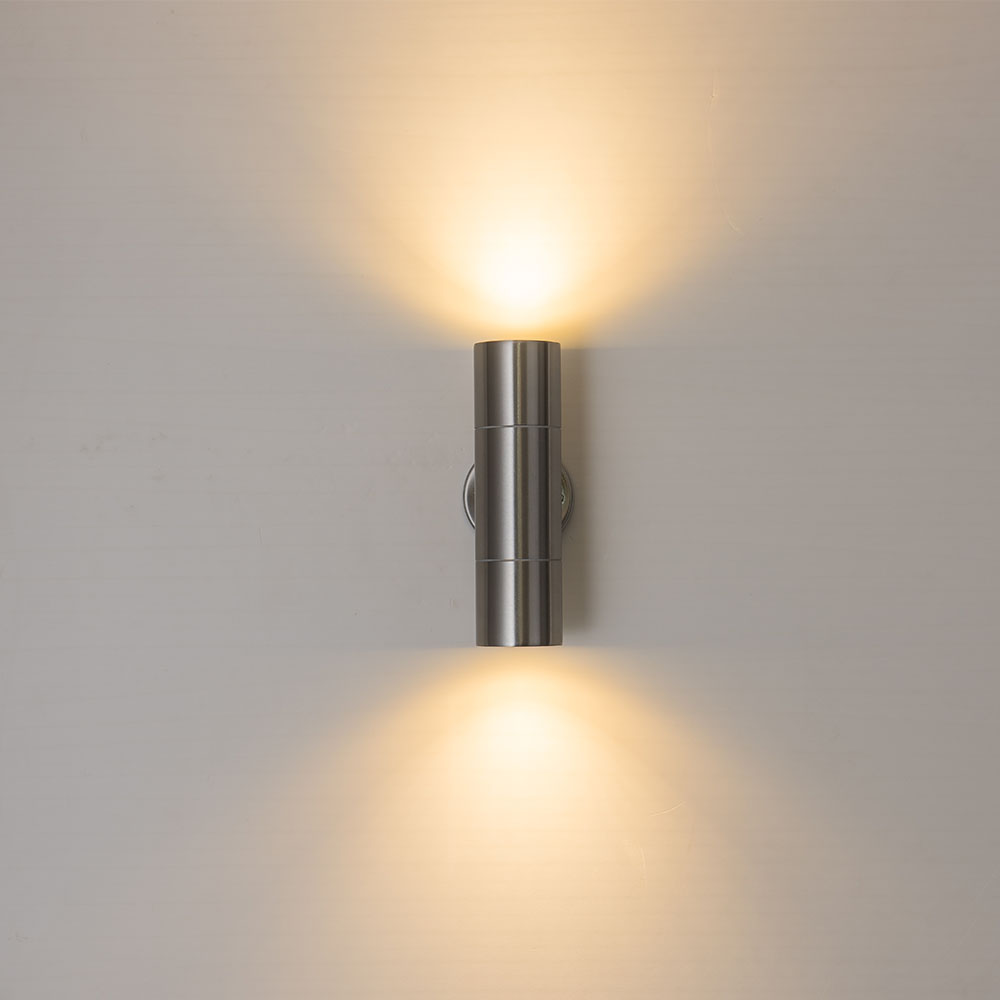 exterior com gu10 bulbo substituir dois lados led porch luzes 04