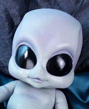 Poupée bébé réaliste Reborn en Pvc, jouets Alien, taille environ 35cm et 14 pouces