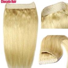 """Chocala волосы 1""""-28"""" Искусственные волосы одинаковой направленности венчик для волос волосы флип в волосах 100 г-200 г бразильские натуральные цельные человеческие волосы для наращивания"""