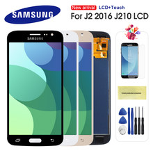 LCD Display For Samsung Galaxy J2 2016 J210 J210F LCD Display Touch Screen Digitizer Assembly Replacement Can Adjust Brightness(China)