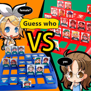 New Who Is It Classic Board Game Funny Family Guessing Game Kids Children Toys Gift Baby Learning Education Toy Party Games